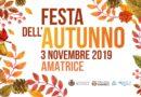 Amatrice –  Festa dell'autunno – 3 novembre