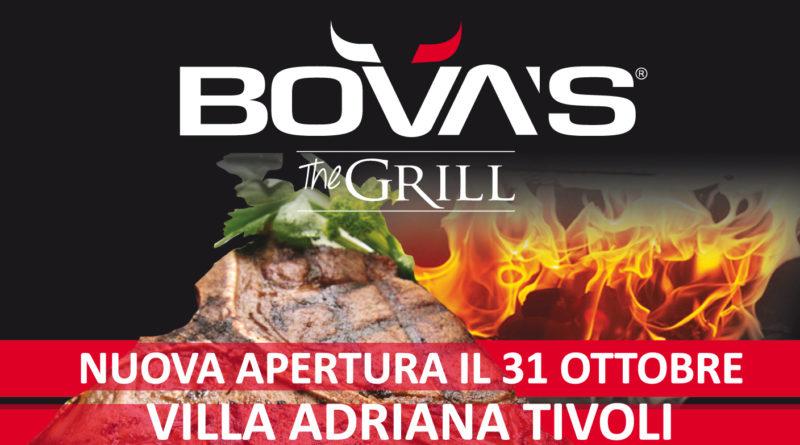 A Villa Adriana arriva Bova's The Grill, la Steakhouse per veri intenditori della carne