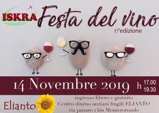 MONTEROTONDO - Al centro per anziani Elianto c'è la festa del vino