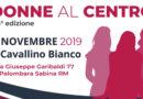 "Palombara Sabina –  23 novembre – ""Donne al centro"""