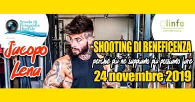 24 Novembre  – Shooting di beneficenza per la Neurofibromatosi
