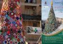 Villa Adriana – Colorato e originale, sabato 7 dicembre si è acceso l'albero ad uncinetto