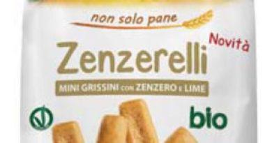 Richiamati i grissini con zenzero e lime Bio's Merenderia