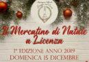 Licenza – 15 dicembre – Il Mercatino di Natale