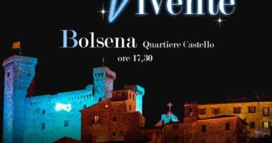 26 dicembre 2019, 1 e 5 gennaio 2020 –  La magia del Presepe Vivente a Bolsena