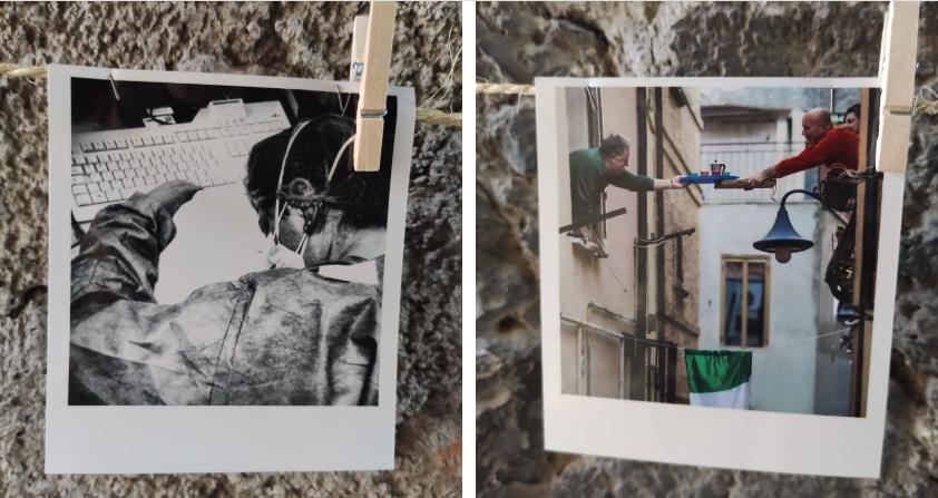 TIVOLI - Il lockdown in 50 polaroid, l'esposizione è un successo (FOTO)