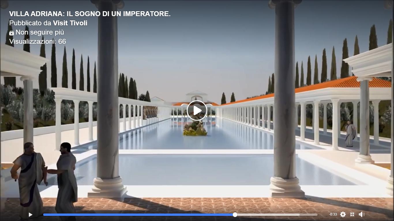 Villa Adriana, la spettacolare ricostruzione 3D dell'Indiana University (VIDEO)