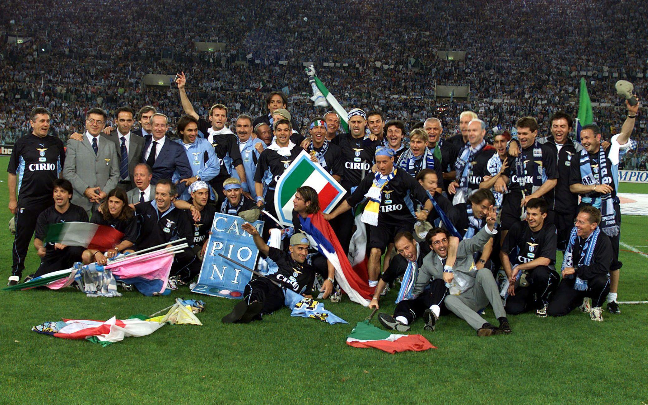 Lazio, vent'anni fa il secondo Scudetto: storia di un trionfo inaspettato
