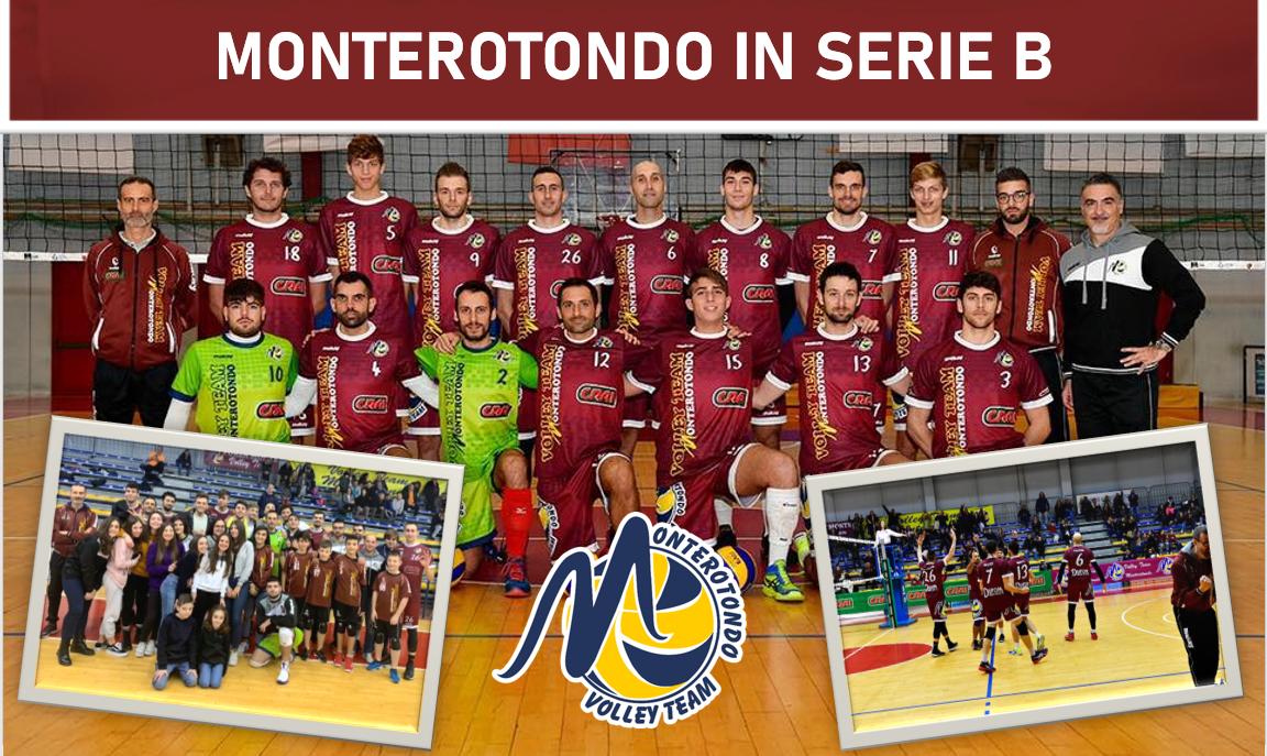 Volley, il Monterotondo è in Serie B: il sogno è realtà