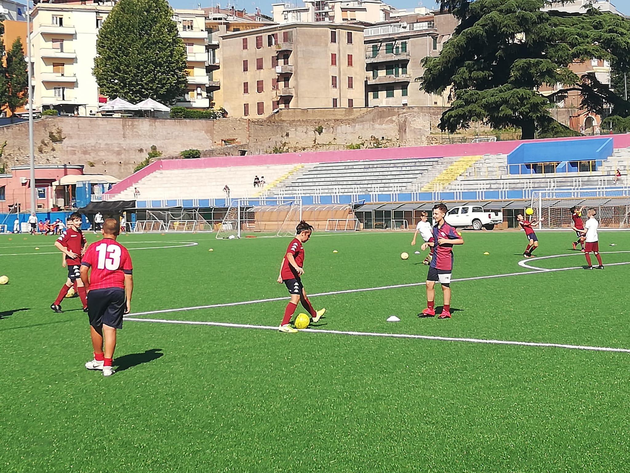 Tivoli Calcio, la CSS presenta l'organico tecnico delle selezioni giovanili - FOTO