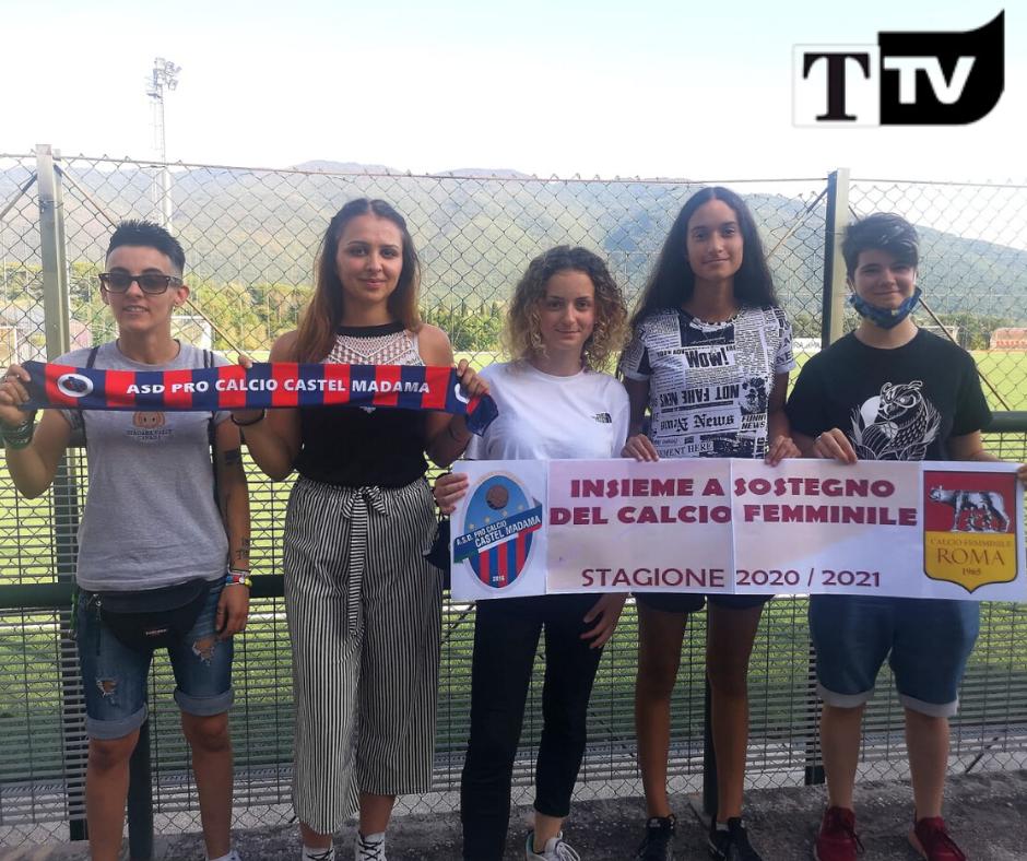 Castel Madama, presentata l'Under 19. Nasce anche la squadra femminile - FOTO