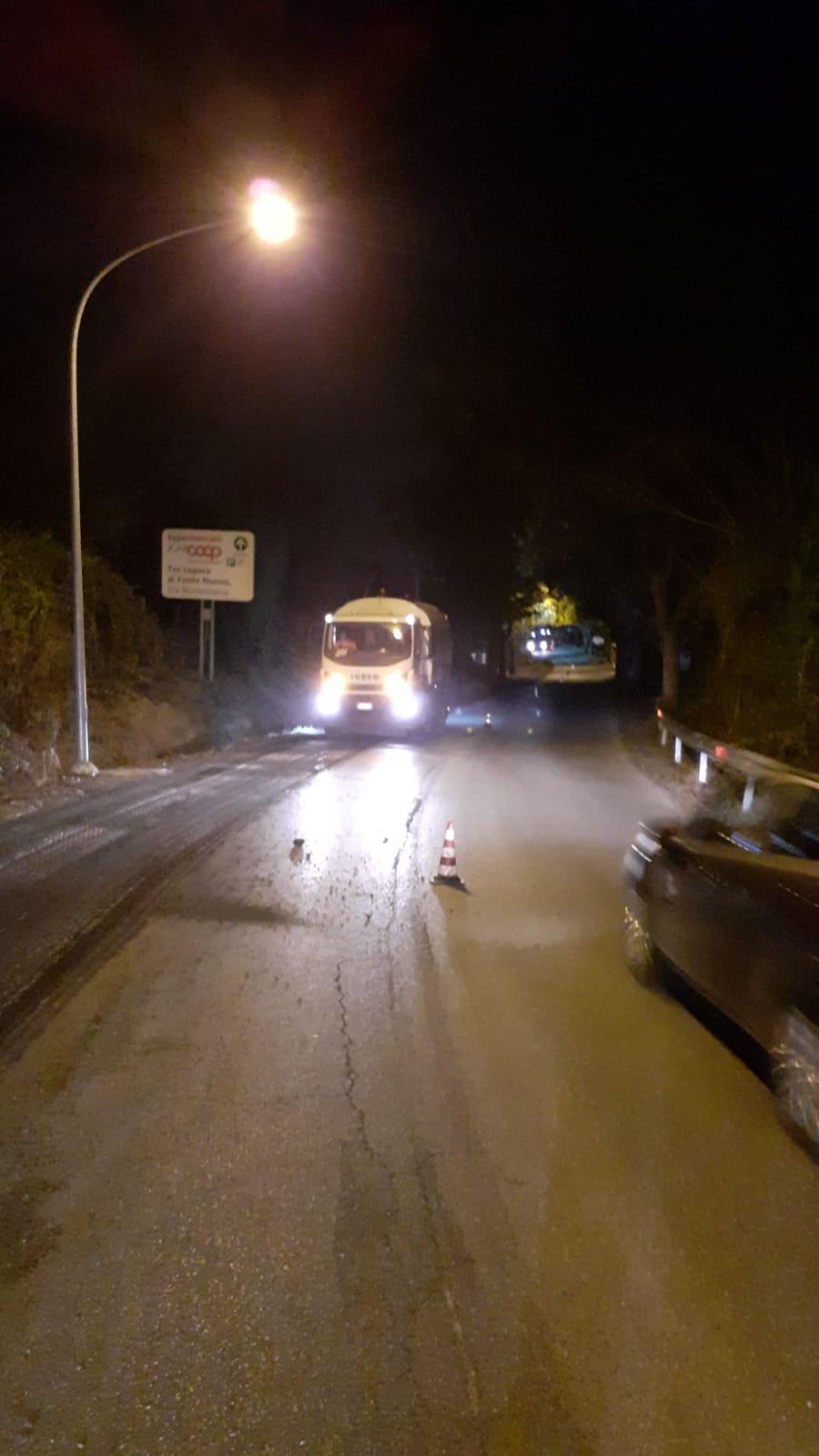 asfalto nomentana