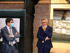 Il Dg della Roma 5 Santonocito e l'assessore regionale alla Sanità D'Amato