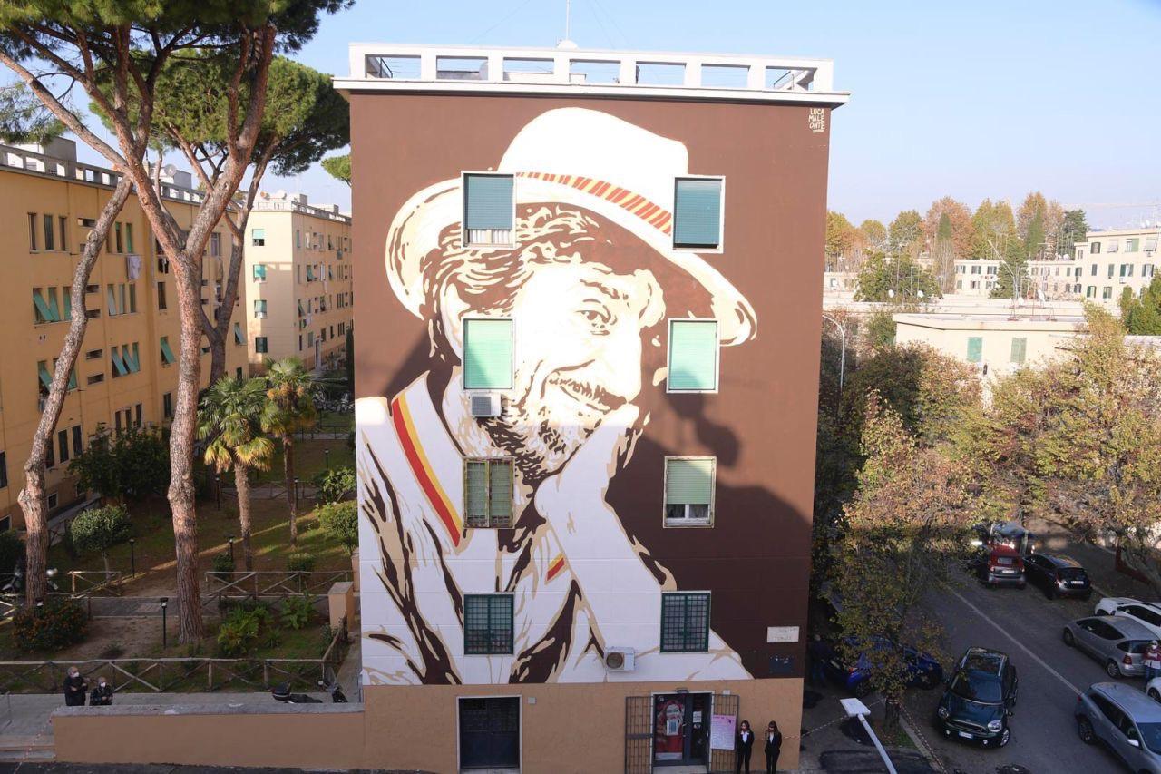 Roma, murale per Gigi Proietti. Fienga: